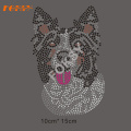 Wholesale Dog Rhinestone Heat Transfer Design