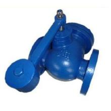 Поворотный обратный клапан с маятником