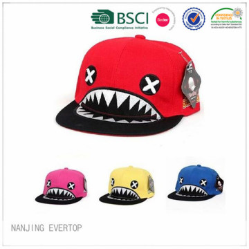 Colorful Novelty Shark Hip Hop Cap