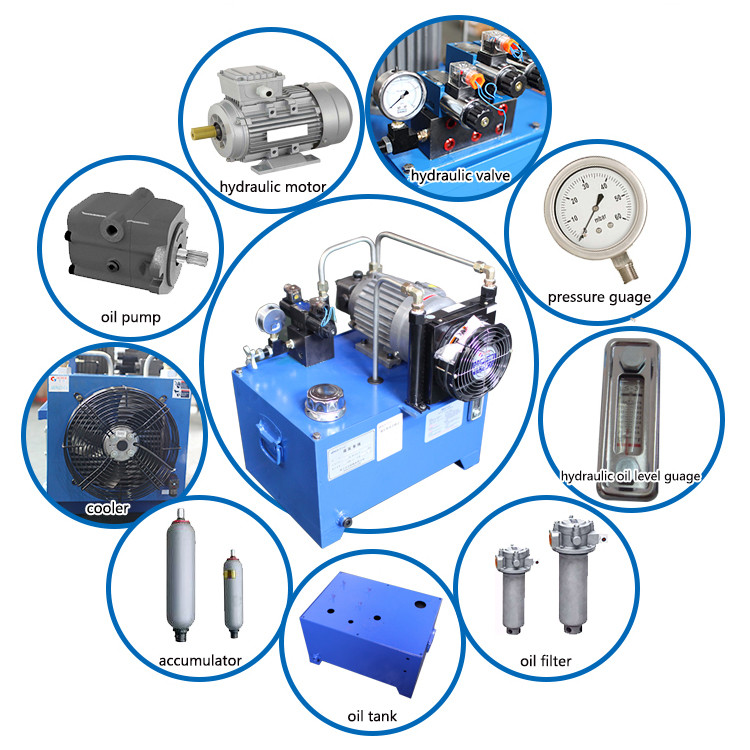 Filter press hydraulic pump