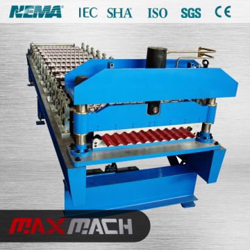 Corrugated Metal Roof Plate Roll Forming Machine