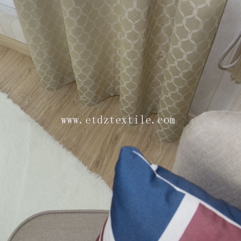 2016 New Soft Textile Polyester Curtain Fabric WZQ190