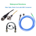 FTTX Waterproof Fiber Optic Patch Cord with Odc Connector