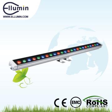 O RGB conduziu o modelo maravilhoso da luz 12w da lavagem da parede