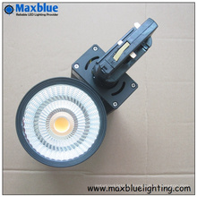 3 phases 40W High CRI Ra97 Ciziten COB LED Track Lighting