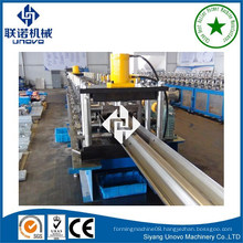 automatic two waves highway guardrail roll forming machine