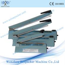 Machine de cachetage de papier de main de corps en aluminium
