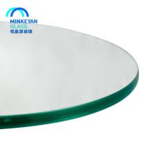 plateau de table en verre trempé haute sécurité