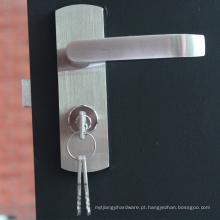 Material de construção Aço inoxidável 304 Aumento da alavanca de projeto Bloqueio de entrada Hardware Sistema de bloqueio da porta