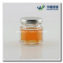 Factory Price 30ml 1oz Mini Hexagon Mason Glass Jar