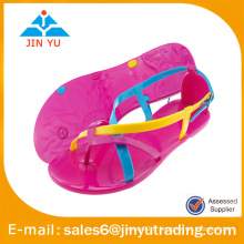 Beatiful girl jelly sandals 2016
