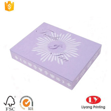 Wedding gift paper invitation card packaging box