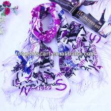 professional printted scarf acrylic