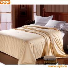 Couvercle de laine de lit de l'hôtel