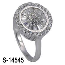 Самые последние обручальные кольца способа 925 серебряные (S-14545. JPG)