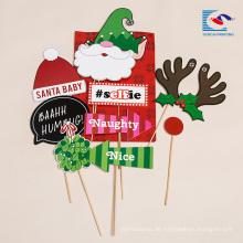 Großhandel benutzerdefinierte handgemachte Weihnachten Geburtstag Kuchen Karte einfügen