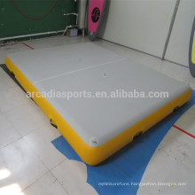 Solid Durable Inflatable Floating Pontoon Water Floating Mat