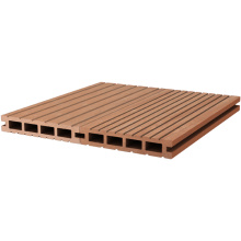 Composite decking for outdoor