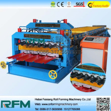 FX high speed double layer roof panel roll forming machine manufacturer