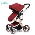 Роскошная складная легкая дорожная коляска с детским дизайном