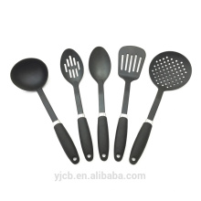 Nueva marca de nylon negro 6pcs conjunto de herramientas de cocina