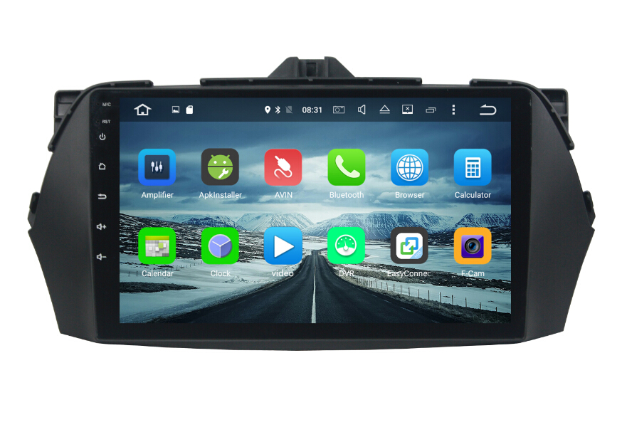 Android car dvd player for Suzuki Ciaz 2013-2017