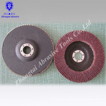 Aluminum Oxide Abrasive Flap Discs for Marble Polishing Used in Construction