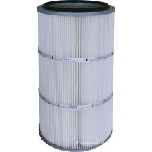 Fabricación de filtro de cartucho de poliéster con membrana de PTFE