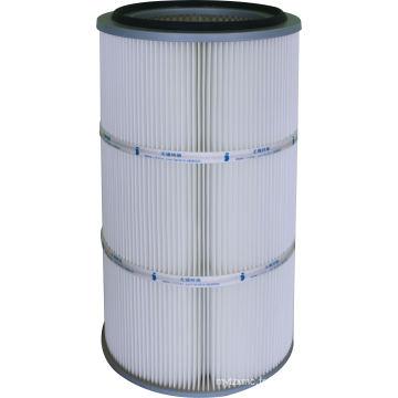 Fabrication du filtre de cartouche de polyester avec la membrane de PTFE