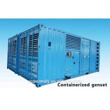 Генератор 1200 кВт мощностью дизельного двигателя большой мощности с двигателем Cummins