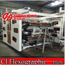 Máquina de impresión multicolor PVC (tipo satelital) / Máquina de impresión flexible