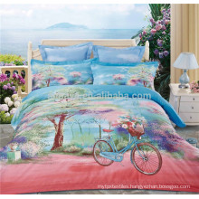 Cotton Printed Fluorescent Children and Baby Bed Sheet Bedding Set in China
