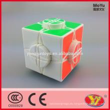 Rueda popular de MoYu de la venta caliente de cubo redondo de la máquina del tiempo