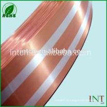 incrustación de plata cinta bimetal tira