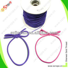 3mm colored rubber string,elastic string tie