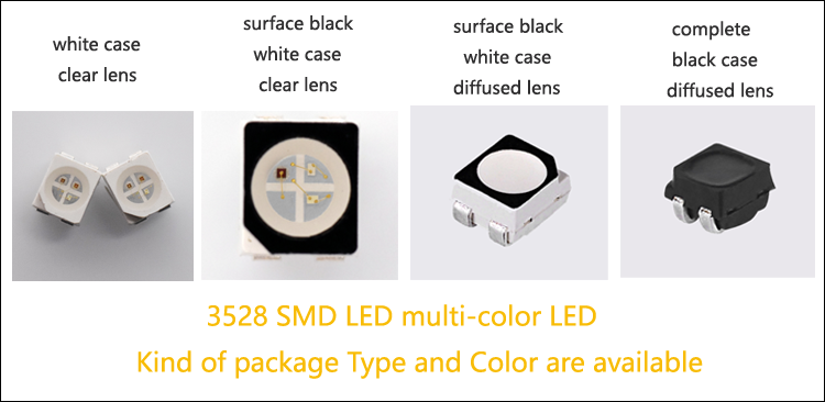 3528 muti-color LED