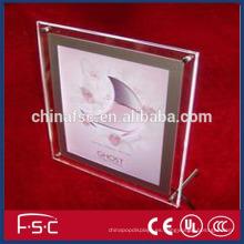 Modificado para requisitos particulares el tamaño disponible forma colgante cristal luz caja