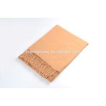 Fabricação de lenço de lã de cobertura de lã sólida