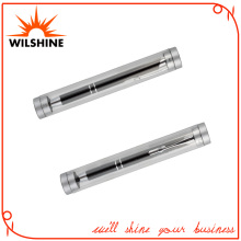 Cheap Plastic Transparent Round Shape Pen Tube (BX004)