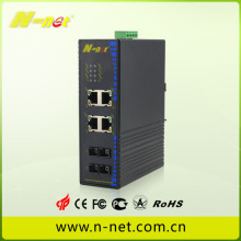 Commutateur industriel POE gigabit