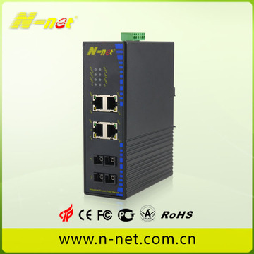 Interruptor industrial gigabit POE