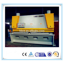 Machine de cisaillement hydraulique Guillotine 6mm x 2500mm NC