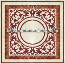 Big square medallion, Fashionable water-jet marble medallion for sale