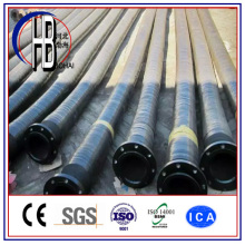 Flange Connecting Flexible Dredging Rubber Irrigation Hose with Big Discount