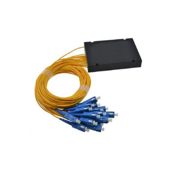 1x16 PLC Splitter Serat Optik Kabel