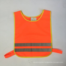 High Visibility Reflective Safety Vest for Kids with Elastic Tape