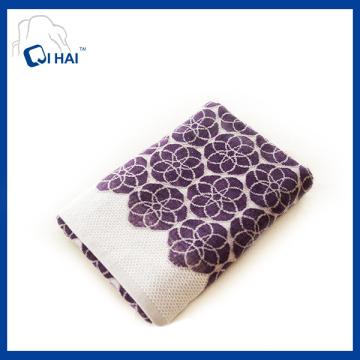 Toalha de banho bordada de fio de algodão