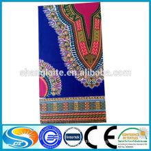 Wax print fabric fashion style