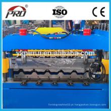 Yingkou PRO840 laminado a frio de folha plana de aço formando máquina / máquina de construção / vantagens da máquina de moldar