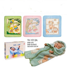 Presenter mjuka Baby swaddle filt